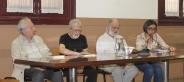 Con Elio Pecora, Arnaldo Ederle e Gian Mario Lucini