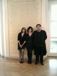 Lipsia con Rossana Rossi e Edo Notarloberti