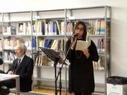 Verona Bibiloteca Civica 2014 Premio Lorenzo Montano con Flavio Ermini