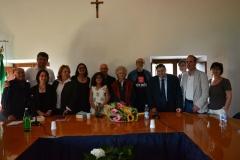 con Jolnda Insana Premio Morlupo Città della Poesia
