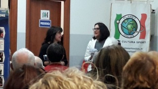 Con Anna Maria Curci