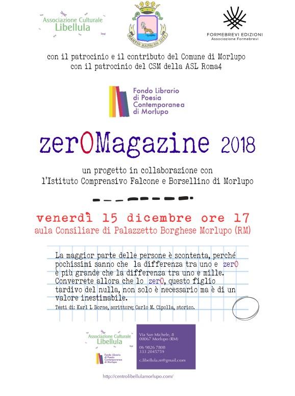 Apertura del progetto Zer0Magazine 2018