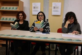 Con Anna Maria Curci e Giovanna Mariani