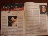 """Fraunen Buch Kritik """"Virginia"""""""